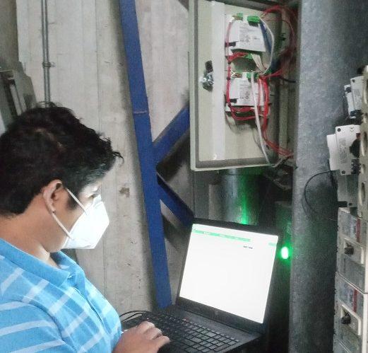HMI para monitoreo remoto de cuartos fríos
